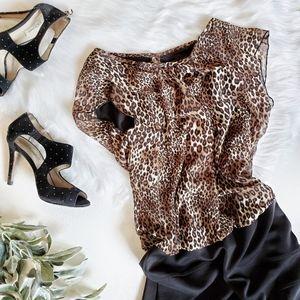ENFOCUS Leopard Print Bondage Skirt Dress …